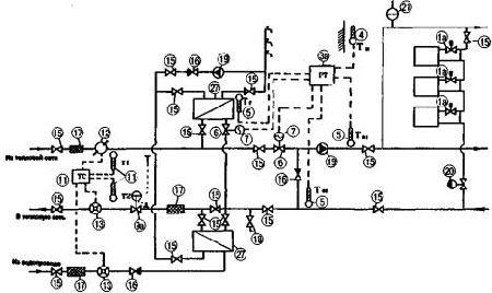 схема водоснабжения многоэтажного дома