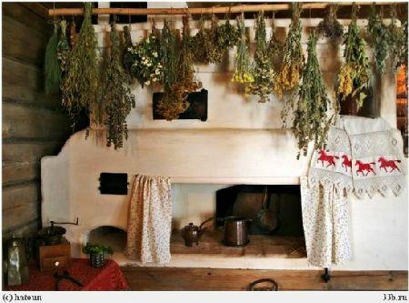 как украсить печь в доме