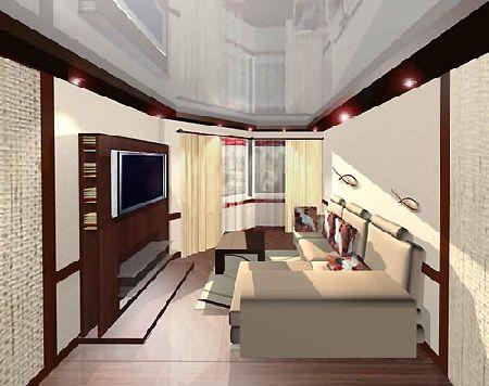ремонт комнаты в японском стиле