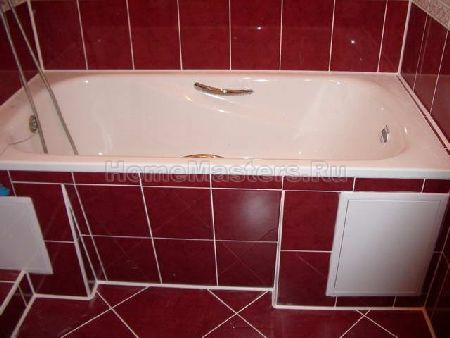 кафельная плитка для ванной ремонт