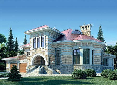 фасады домов в стиле фахверк