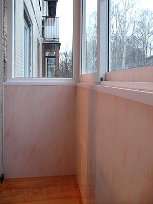 отделка фасада пластиковыми панелями