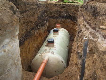 установить канализацию в частном доме