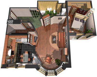 как создать дизайн проект комнаты