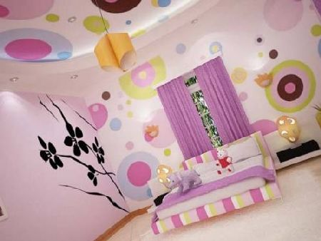 дизайн спальни совместно с детской