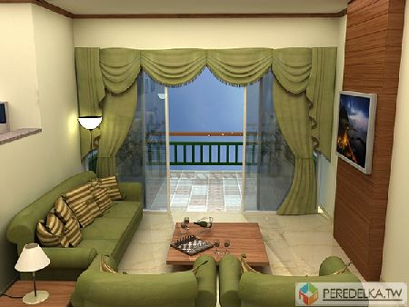 дизайн прямоугольной гостиной комнаты фото