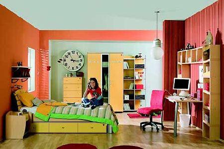 дизайн комнаты для подростка простой