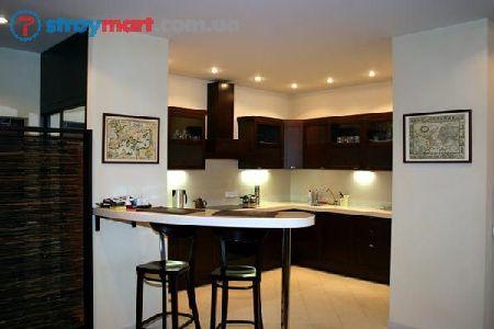 дизайн интерьера кухня студия фото
