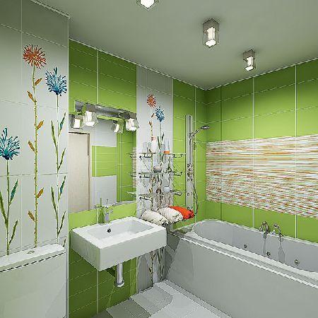 ванная комната дизайн в пятиэтажке