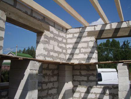 крыша для дома из пеноблоков